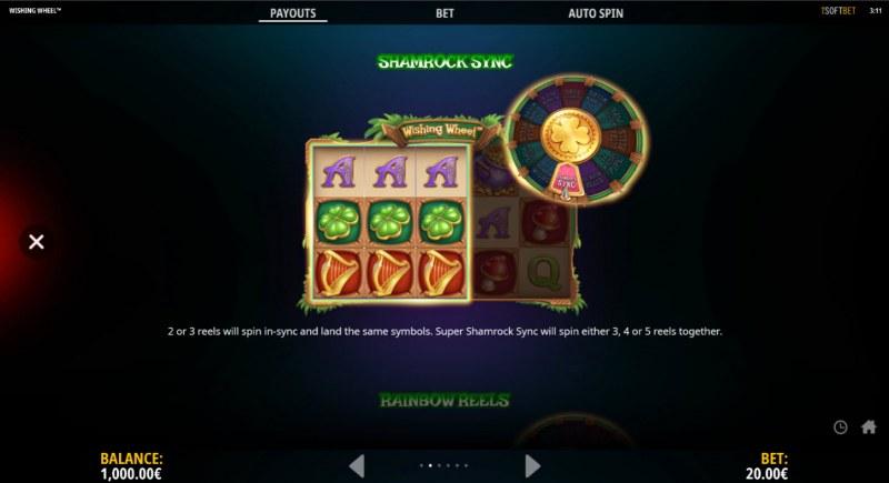 Wishing Wheel :: Shamrock Sync