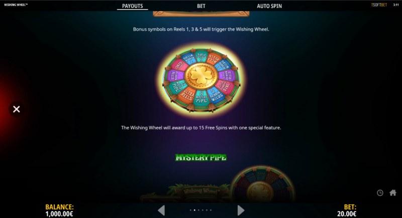 Wishing Wheel :: Bonus Wheel