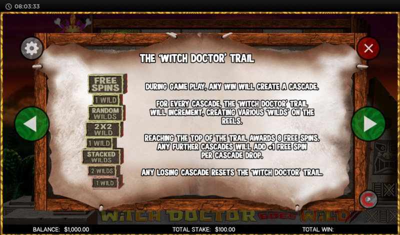 Witch Doctor Goes Wild :: Witch Doctor Trail Rules