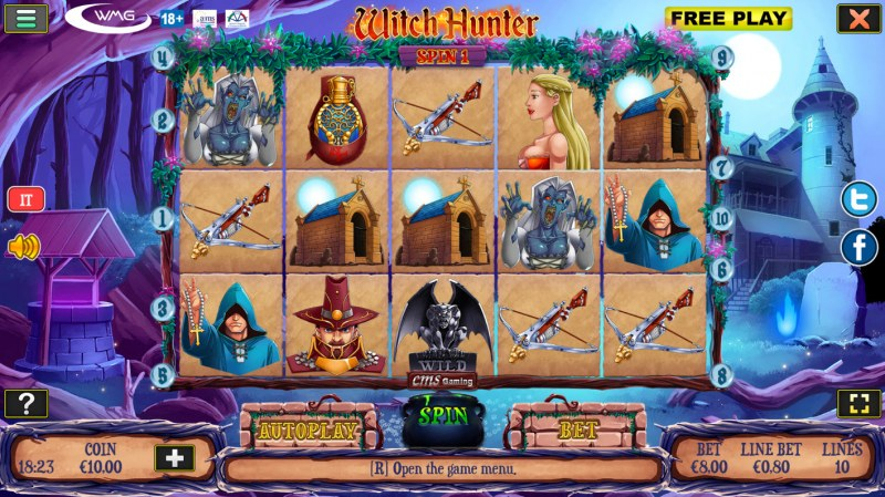 Witch Hunter :: Main Game Board