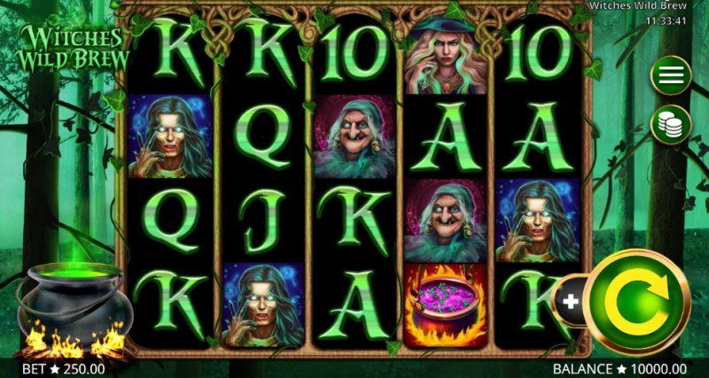 Play slots at Argo: Argo featuring the Video Slots Witches Wild Brew with a maximum payout of $625,000