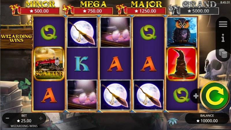 Wizarding Wins :: Main Game Board