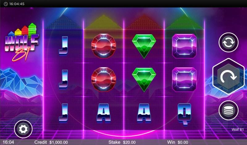 Wolf 81 :: Base Game Screen