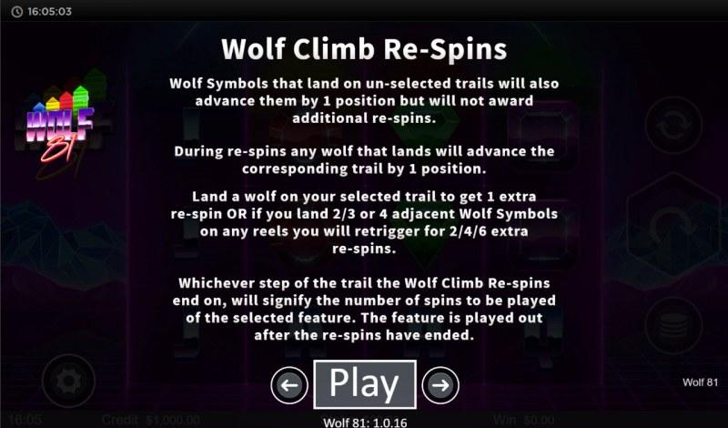 Wolf 81 :: Wolf Climb Respins