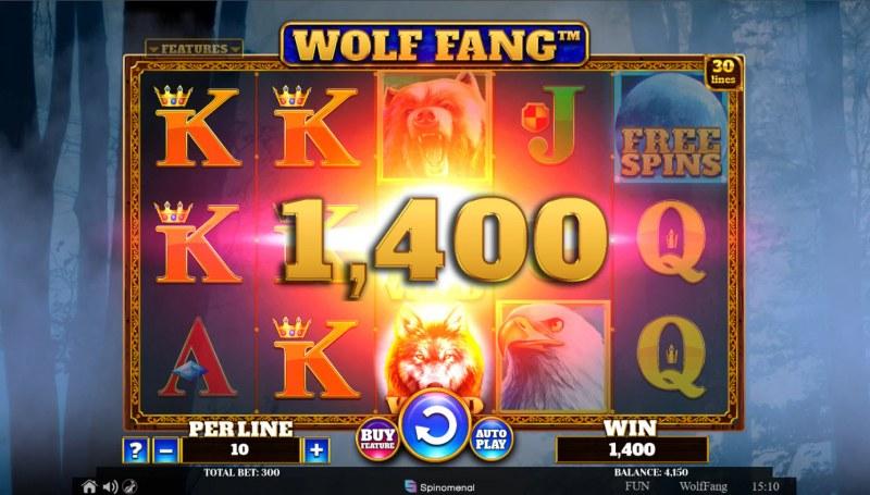 Wolf Fang :: Multiple winning paylines