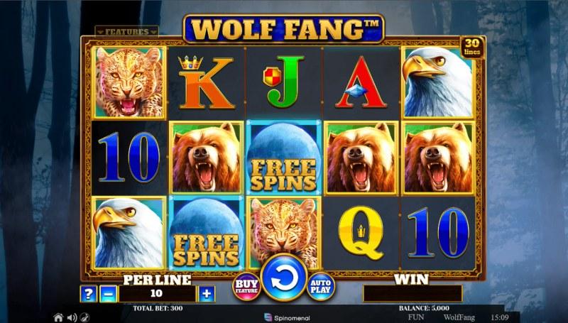 Wolf Fang :: Base Game Screen