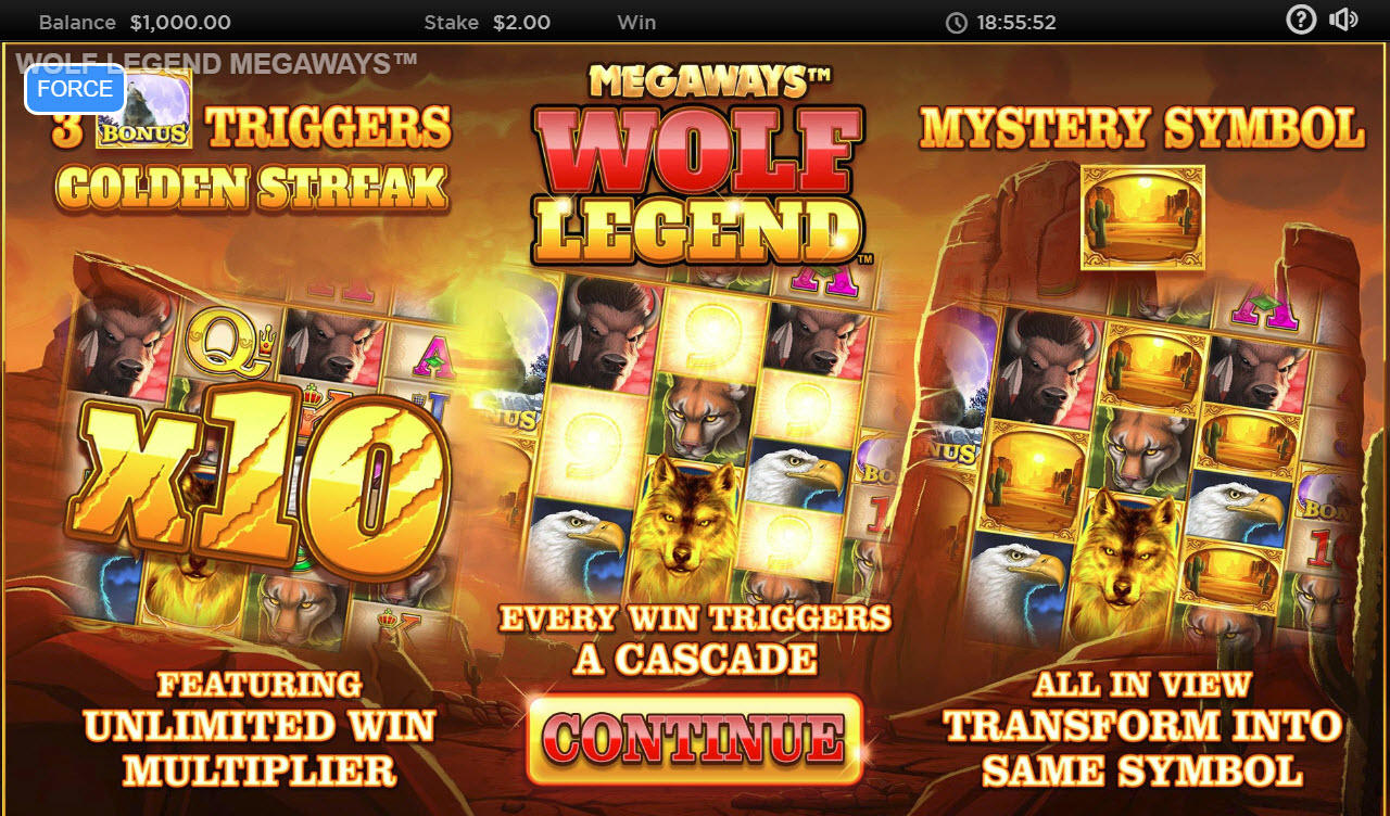 Wolf Legend Megaways :: Pre-view
