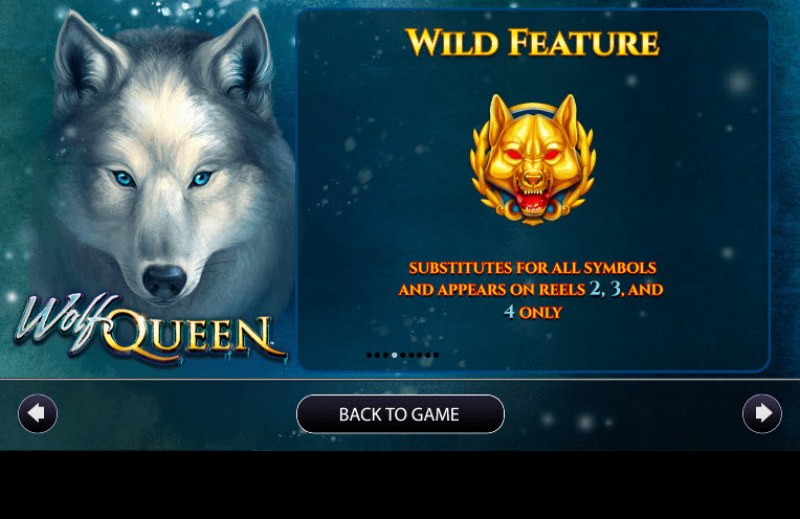 Wolf Queen :: Wild Symbols Rules