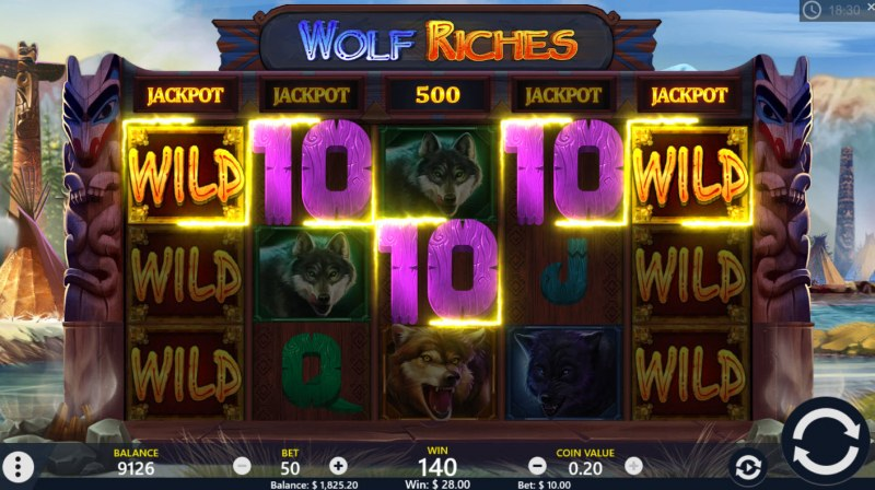 Wolf Riches :: Five of a kind