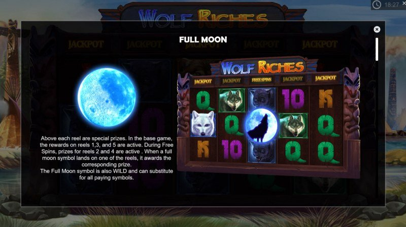 Wolf Riches :: Scatter Symbol Rules