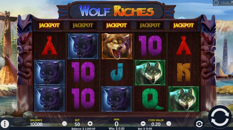 Wolf Riches :: Main Game Board
