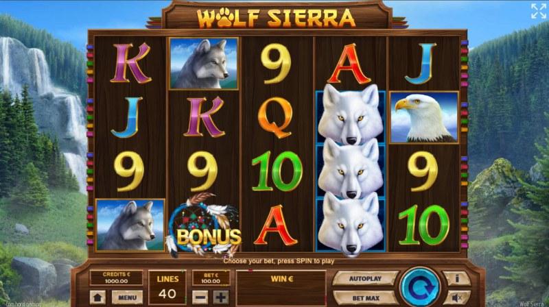 Wolf Sierra :: Base Game Screen