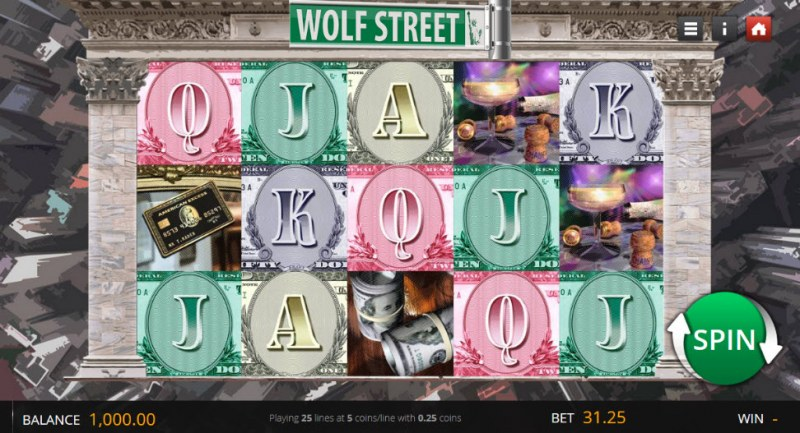 Wolf Street :: Main Game Board