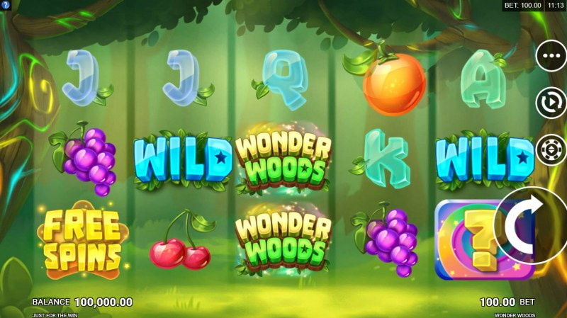 Wonder Woods :: Main Game Board