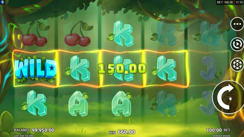 Wonder Woods :: Multiple winning paylines