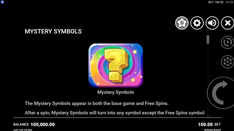 Wonder Woods :: Mystery Symbol