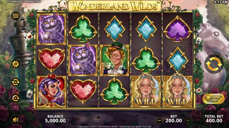 Wonderland Wilds :: Main Game Board