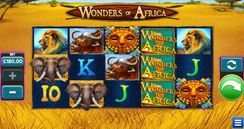 Wonders of Africa :: Main Game Board
