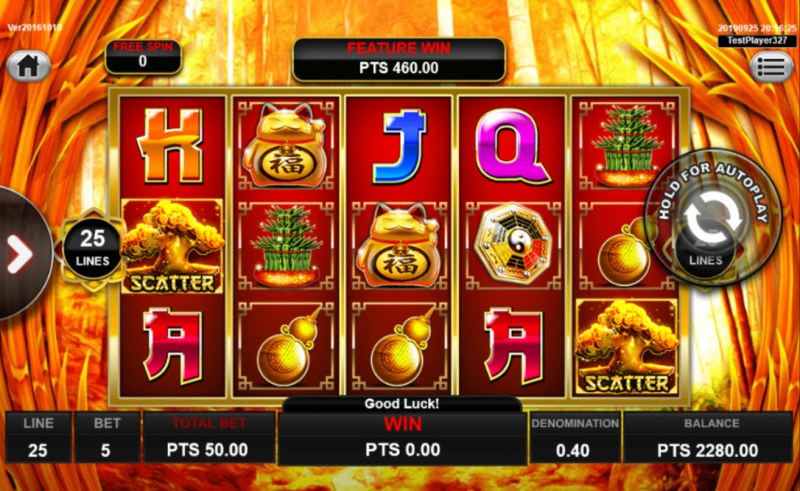 Wong Po :: 8 extra spins awarded