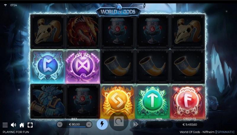 World of Gods Niflheim :: Bonus Pick activated