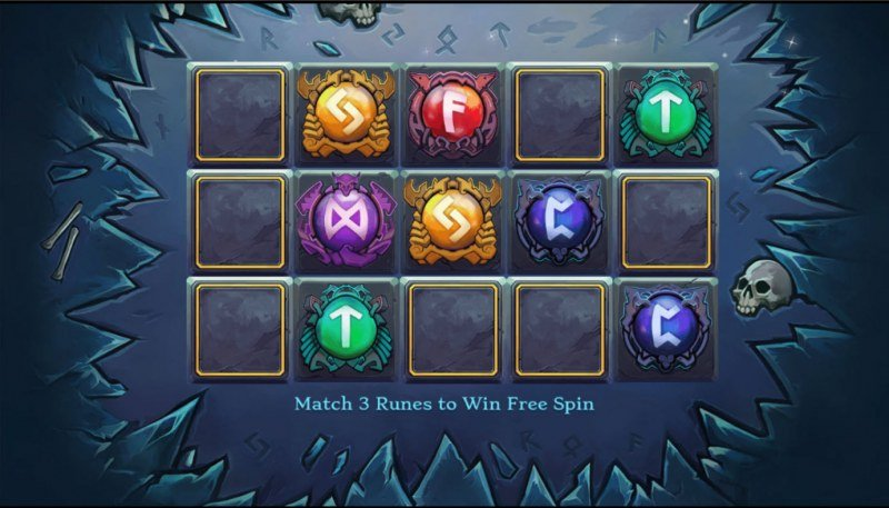 World of Gods Niflheim :: Match three and win that free spins feature