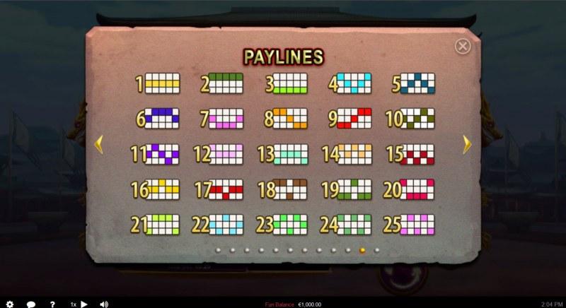Wu Zetian :: Paylines 1-25