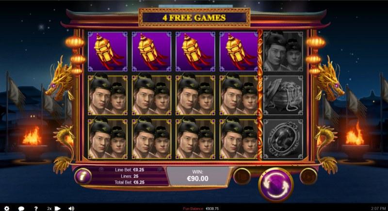 Wu Zetian :: Multiple winning combinations lead to a big win