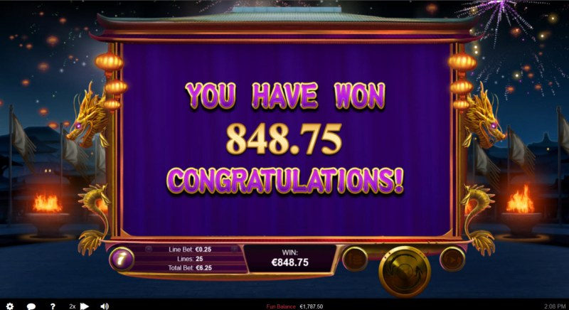 Wu Zetian :: Total Free Spins Payout