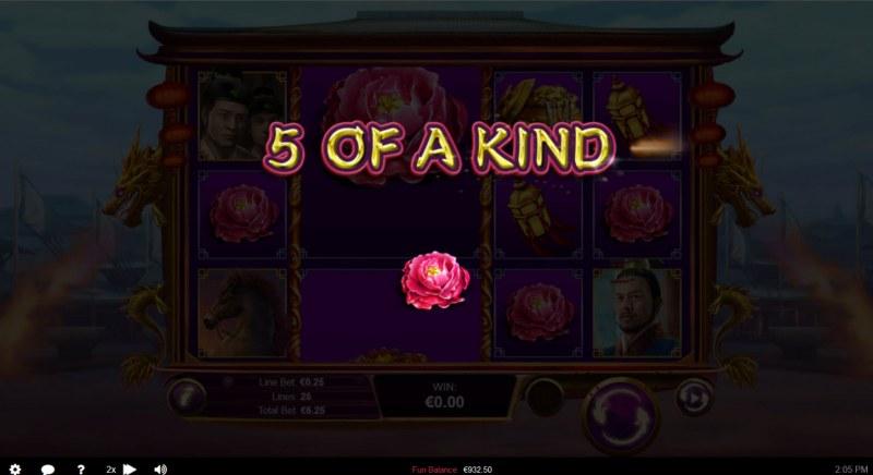 Wu Zetian :: A five of a kind win