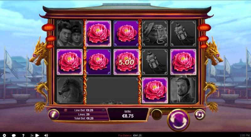Wu Zetian :: Multiple winning paylines