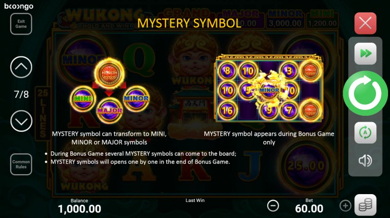 Wukong Hold and Win :: Mystery Symbol