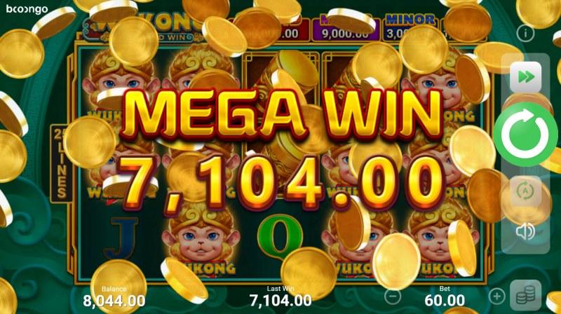 Wukong Hold and Win :: Mega Win