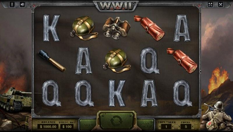 WW II :: Base Game Screen