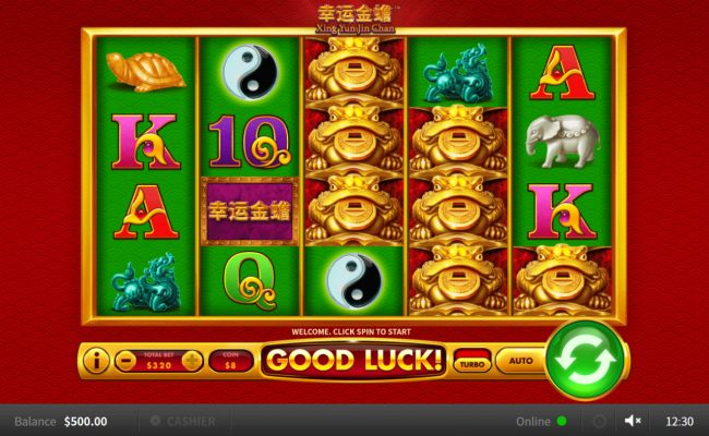 Xing Yun Jin Chan :: Main Game Board