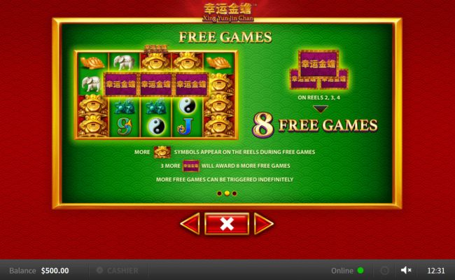 Xing Yun Jin Chan :: Free Game Rules
