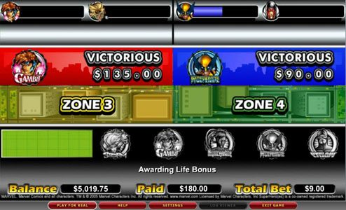 Africa Casino featuring the video-Slots X-Men with a maximum payout of 7,500x