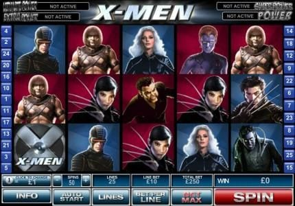 Play slots at Windows: Windows featuring the Video Slots X-Men with a maximum payout of $500,000