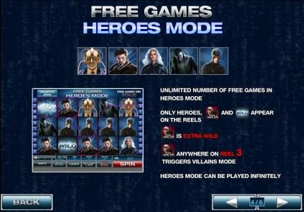 unlimited number of free games in heroes mode