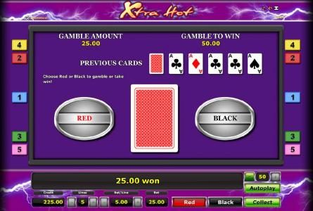 Casumo featuring the Video Slots Xtra Hot with a maximum payout of $100,000