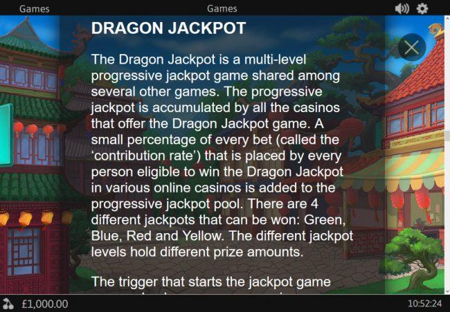 Progressive Jackpot Rules