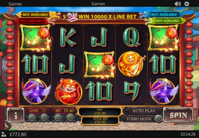 Play slots at My Win 24: My Win 24 featuring the Video Slots Xuan Pu Lian Huan with a maximum payout of $125,000