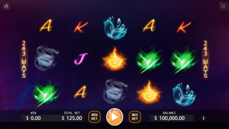 X-Elements :: Main Game Board