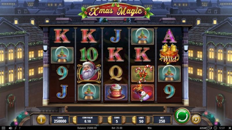 Xmas Magic :: Main Game Board