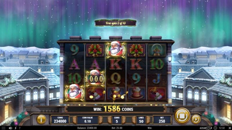 Xmas Magic :: Free Spins Rules