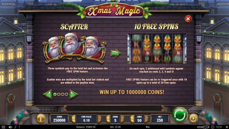 Xmas Magic :: Scatter Symbol Rules