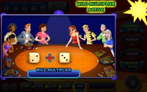 Vegas Spins featuring the Video Slots Yahtzee with a maximum payout of $40,000