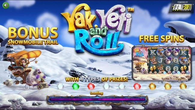 Play slots at Casiplay: Casiplay featuring the Video Slots Yak Yeti and Roll with a maximum payout of $92,750