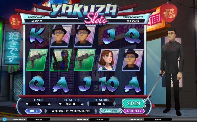 Play slots at DaVincis Gold: DaVincis Gold featuring the Video Slots Yakuza Slots with a maximum payout of Jackpot