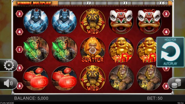 Year of the Monkey :: Main Game Board