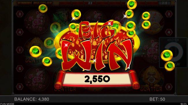 Year of the Monkey :: Big Win